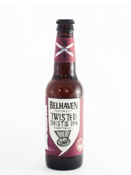 Белхевен Твистид Систл ИПА / Belhaven Twisted Thistle IPA (бут 0,33л., алк 5,6%)