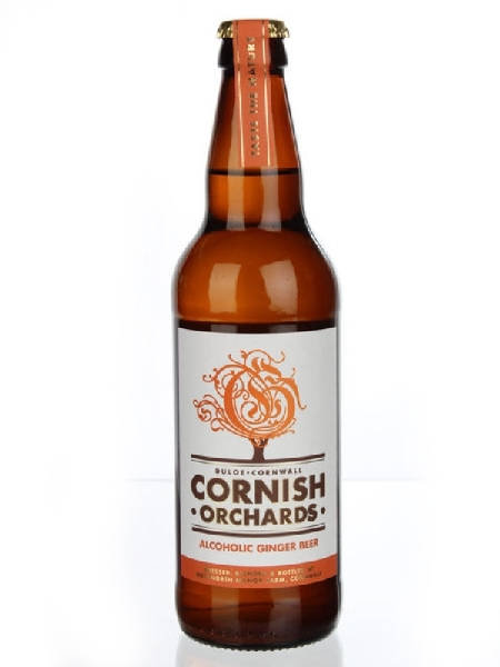 Корниш Орчардс Джинжер Бир / Cornish Orchards Ginger Beer (бут 0,5л., алк 4%)
