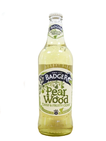 Сидр Баджер грушевый /Pear Wood Cider (бут 0,5л., алк 5%)