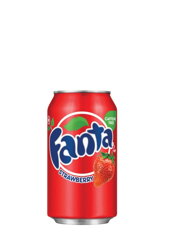 Напиток Fanta Strawberry клубника (0,355л.*12ж/б.)